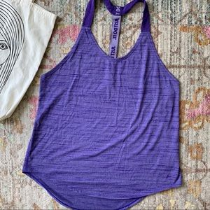 Nike purple Racer Back Tank Top